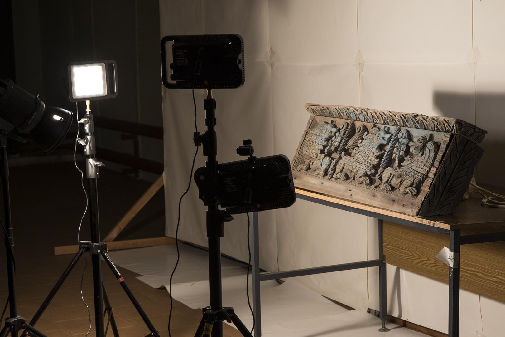Фонд «Родная земля» организовал съёмку в хранилищах музея Царицыно