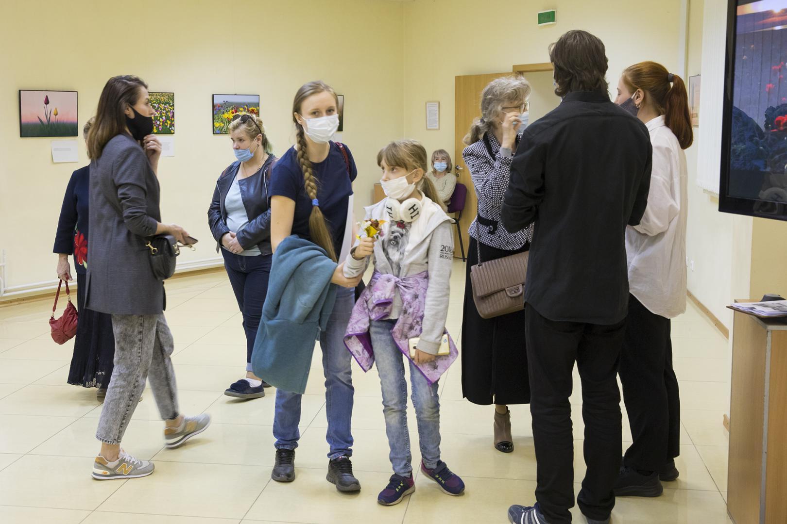 Открытие эколого-просветительской фотовыставки в Клину