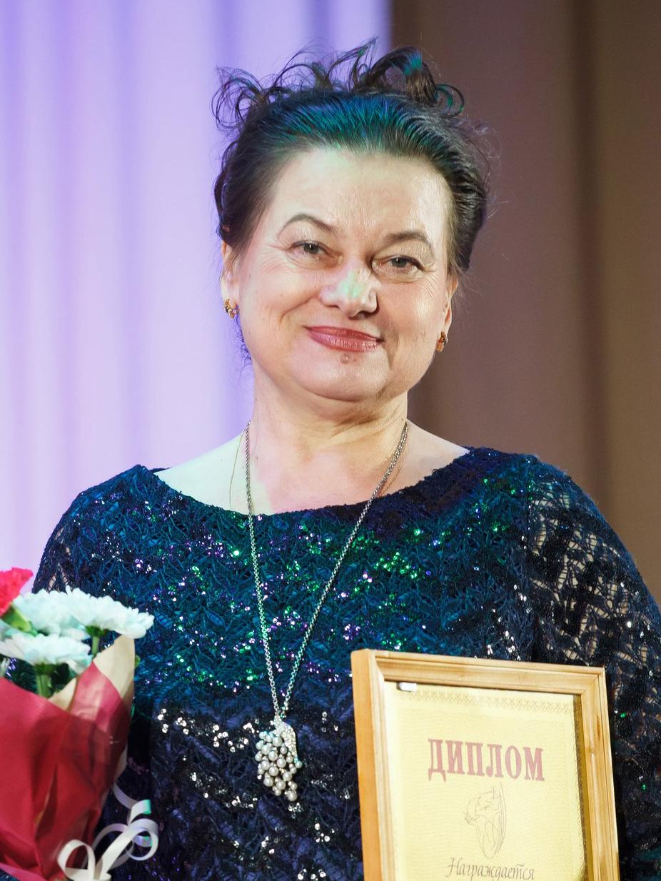 ЧЕЛПАНОВА ГАЛИНА АЛЕКСАНДРОВНА - Народный мастер России
