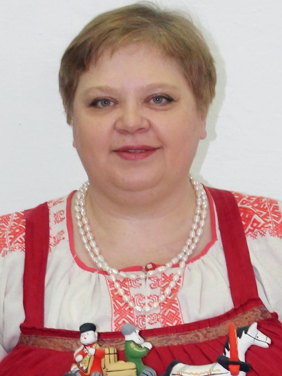 ФАРУТИНА ОЛЬГА НИКОЛАЕВНА - Народный мастер России